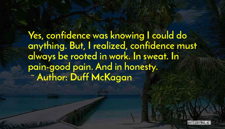 Having A Good Attitude At Work Quotes By Duff McKagan
