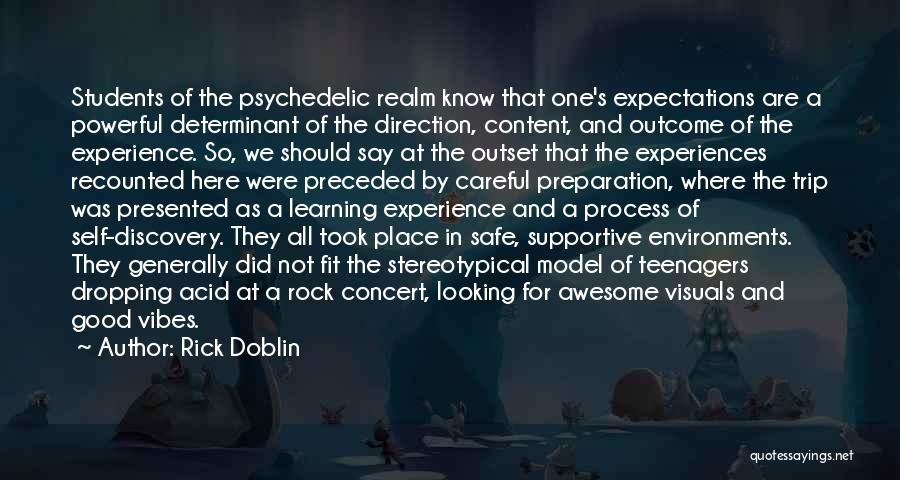 Having A Safe Trip Quotes By Rick Doblin