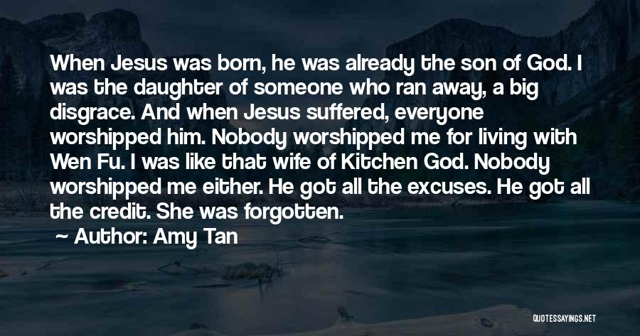 Having A Son And Daughter Quotes By Amy Tan
