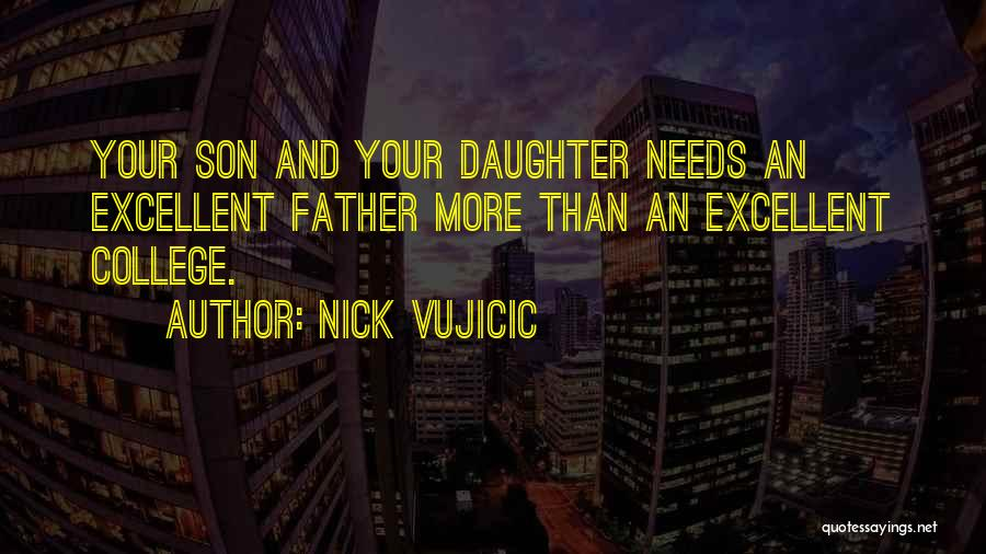 Having A Son And Daughter Quotes By Nick Vujicic