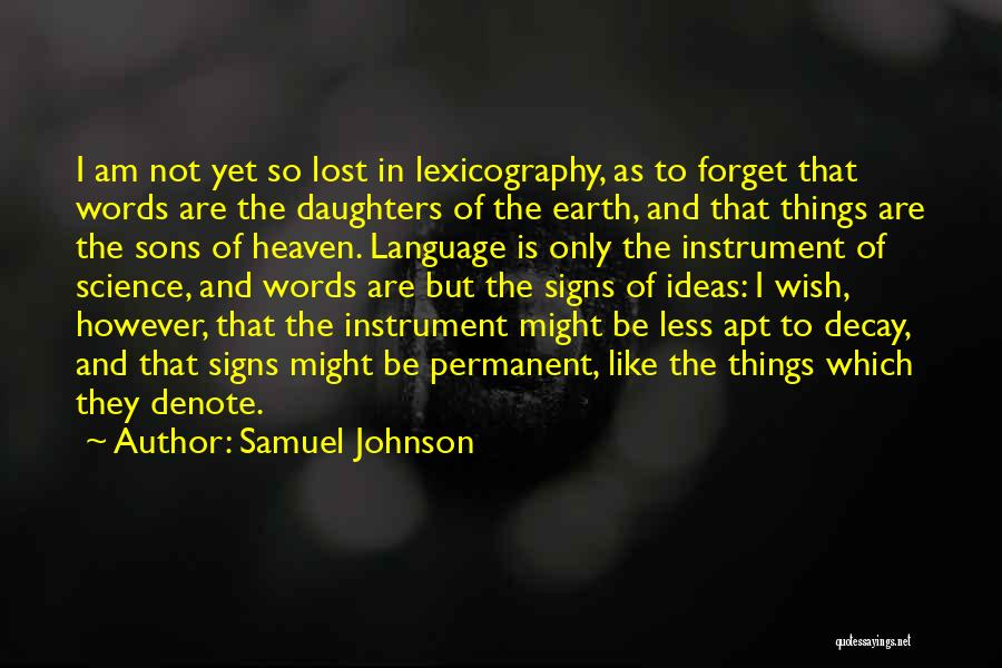 Having A Son And Daughter Quotes By Samuel Johnson