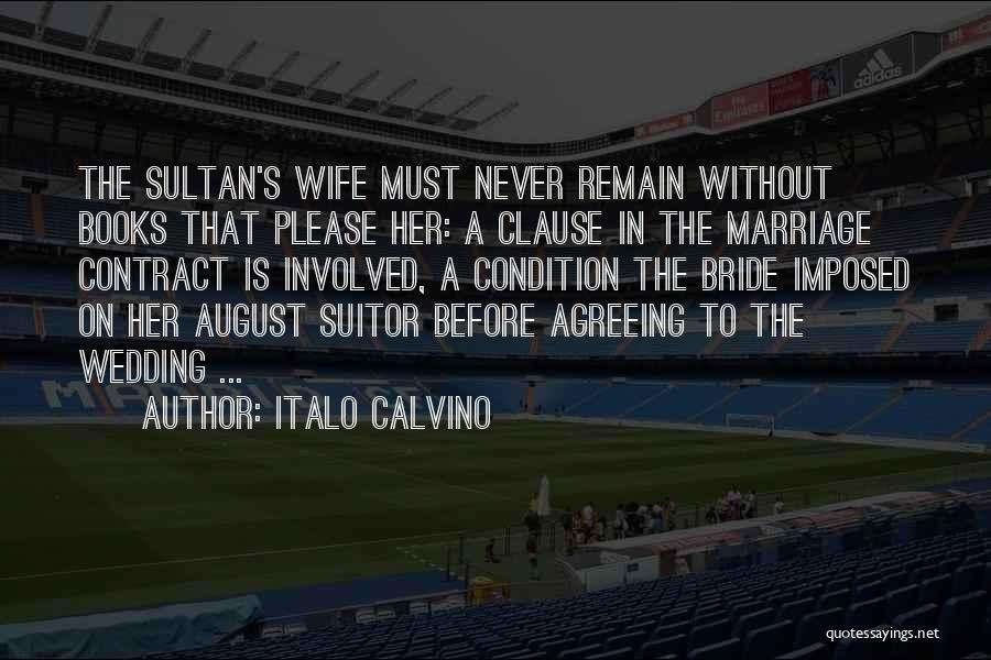 Having A Suitor Quotes By Italo Calvino