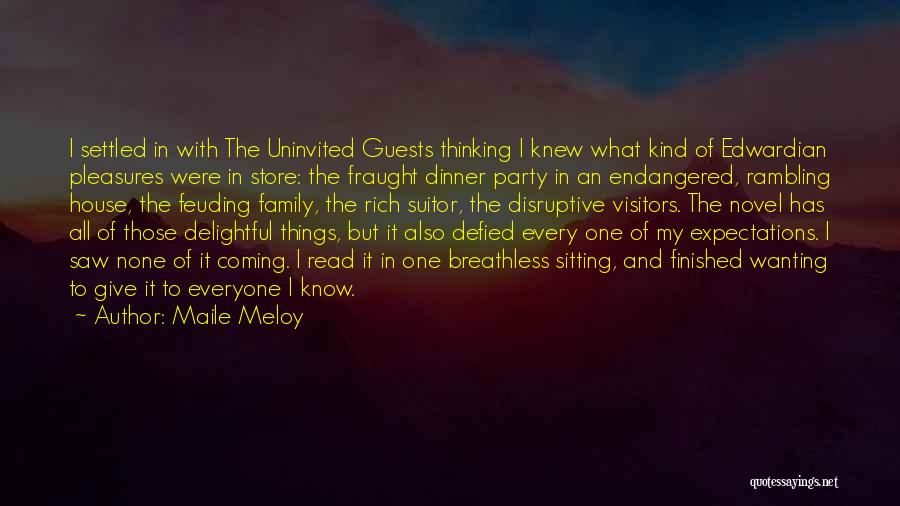 Having A Suitor Quotes By Maile Meloy