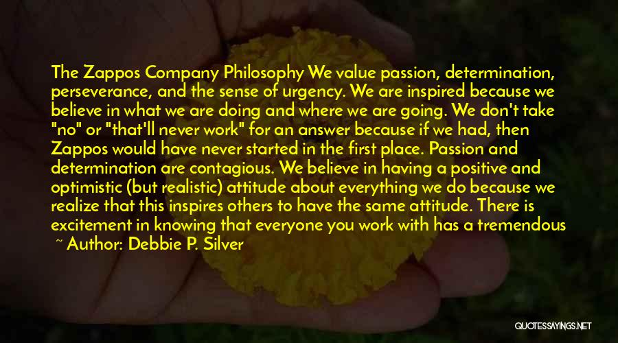 Having An Answer For Everything Quotes By Debbie P. Silver