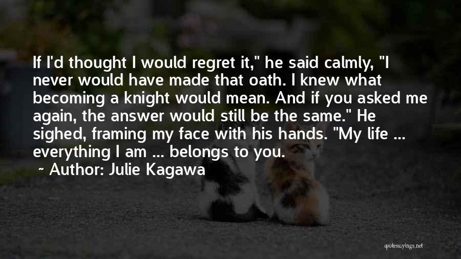 Having An Answer For Everything Quotes By Julie Kagawa