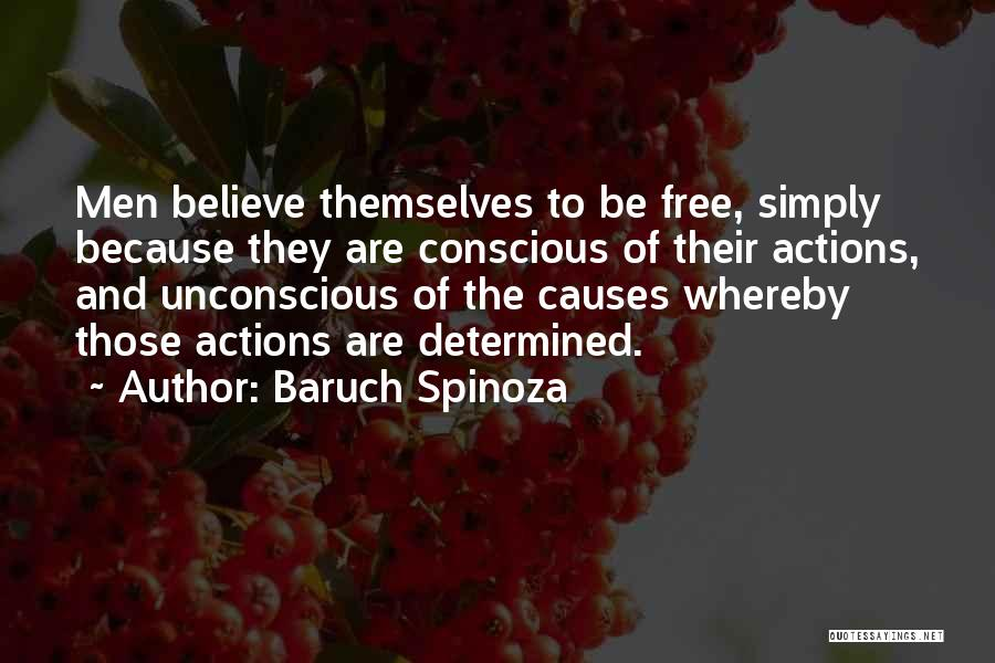 Having Believe In Yourself Quotes By Baruch Spinoza