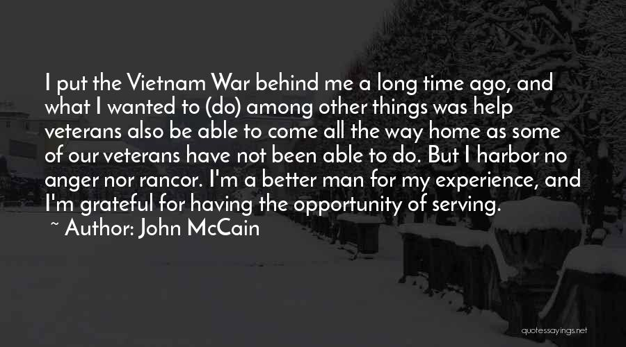 Having Better Things To Do Quotes By John McCain