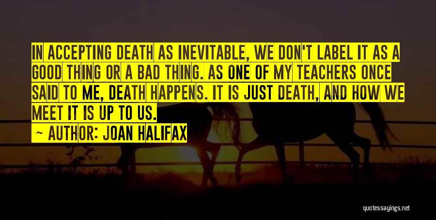 Having Good Teachers Quotes By Joan Halifax
