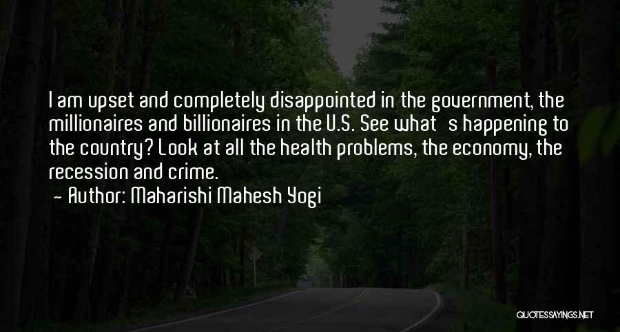 Having Health Problems Quotes By Maharishi Mahesh Yogi