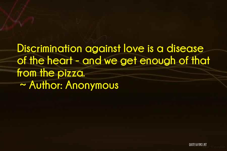 Having Heart Disease Quotes By Anonymous