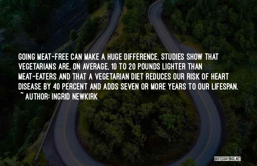 Having Heart Disease Quotes By Ingrid Newkirk