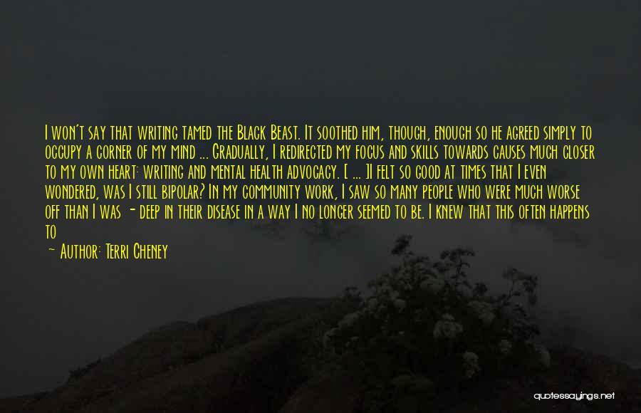 Having Heart Disease Quotes By Terri Cheney
