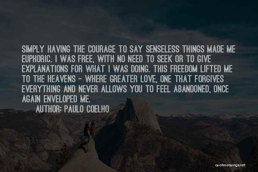 Having Hope For Love Quotes By Paulo Coelho