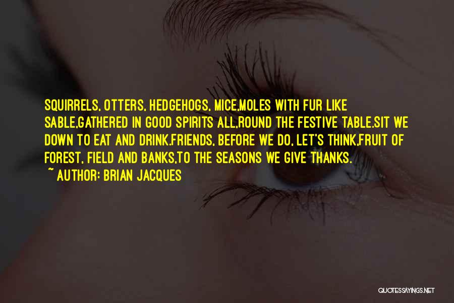 Having No Good Friends Quotes By Brian Jacques