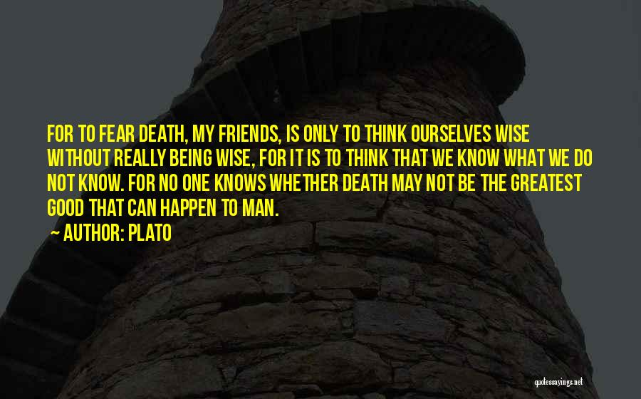 Having No Good Friends Quotes By Plato