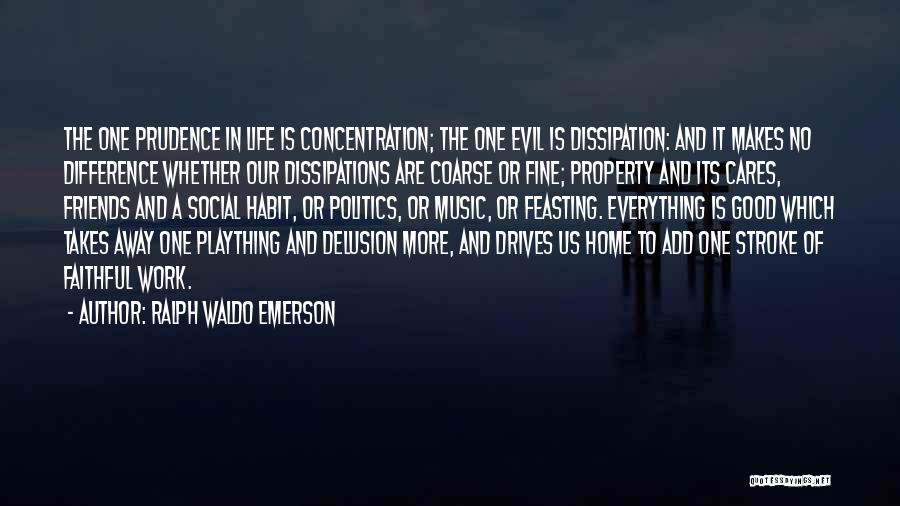 Having No Good Friends Quotes By Ralph Waldo Emerson