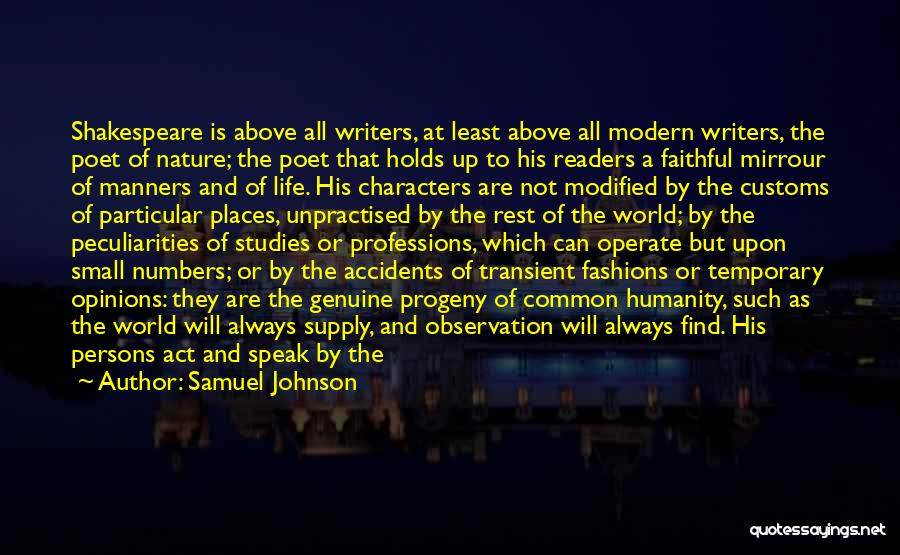 Having No Manners Quotes By Samuel Johnson