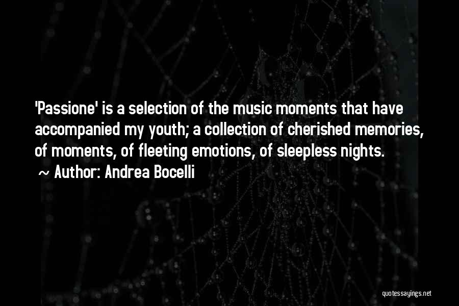 Having Sleepless Nights Quotes By Andrea Bocelli