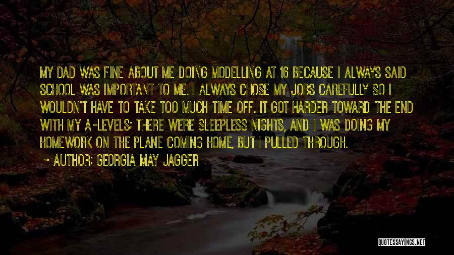 Having Sleepless Nights Quotes By Georgia May Jagger