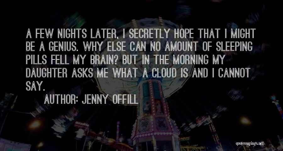 Having Sleepless Nights Quotes By Jenny Offill