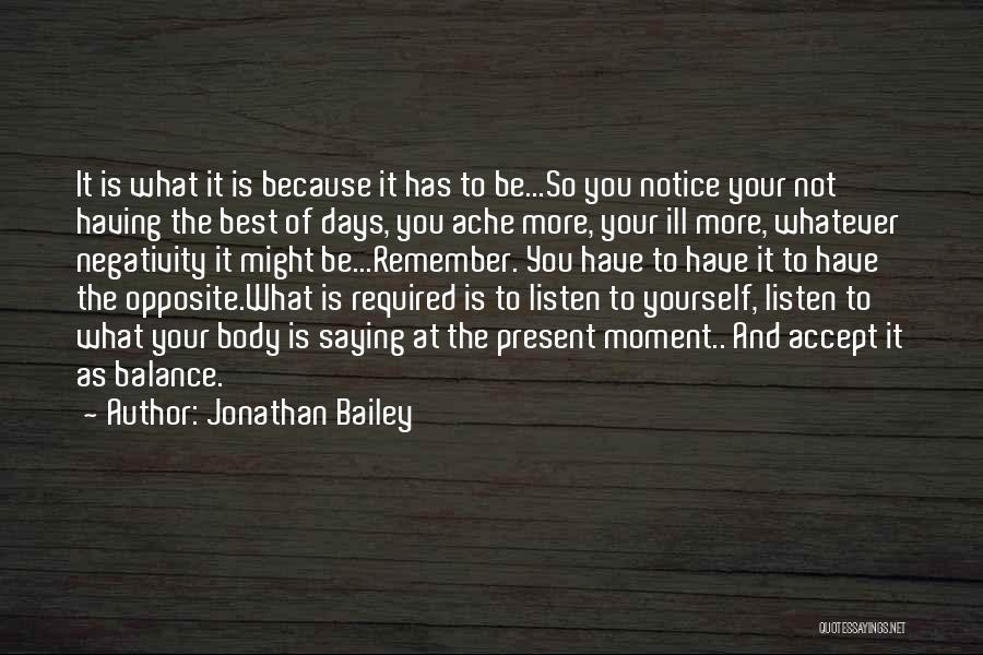 Having The Best Life Quotes By Jonathan Bailey