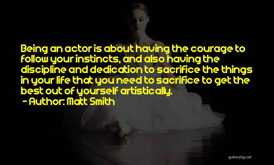 Having The Best Life Quotes By Matt Smith