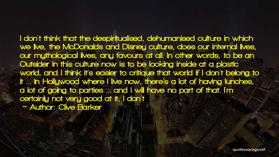 Having The Time Of Our Lives Quotes By Clive Barker