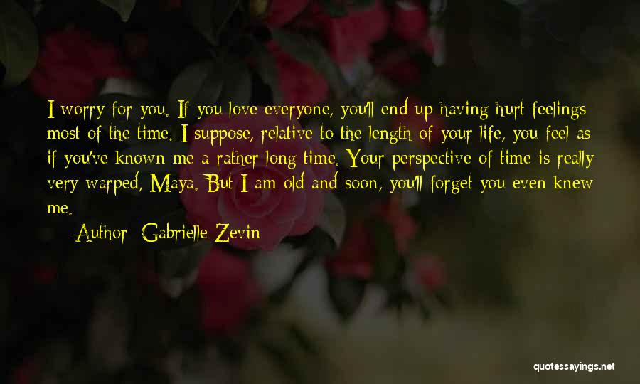 Having The Time Of Your Life Quotes By Gabrielle Zevin