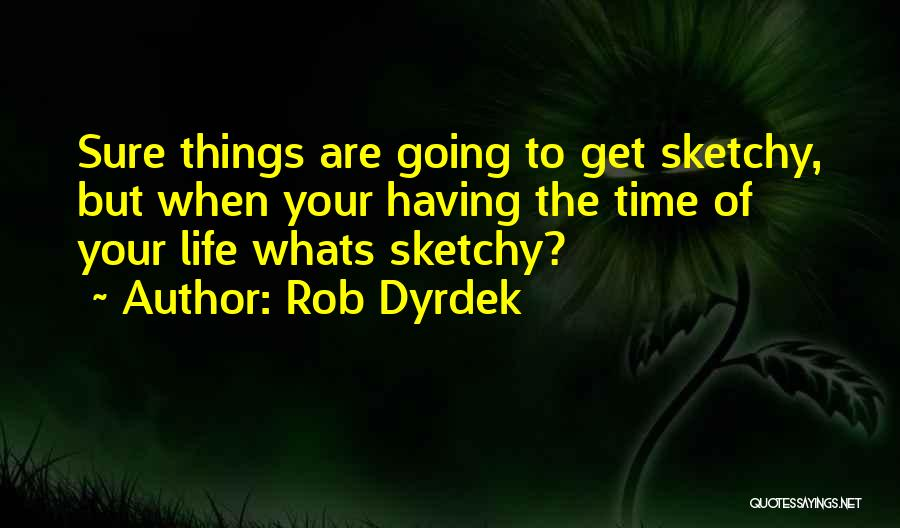 Having The Time Of Your Life Quotes By Rob Dyrdek