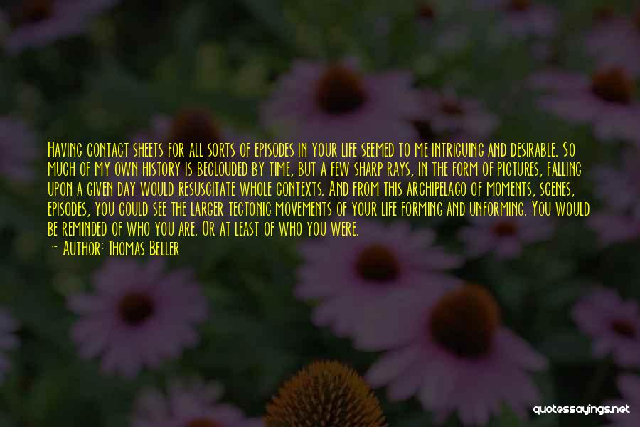 Having The Time Of Your Life Quotes By Thomas Beller