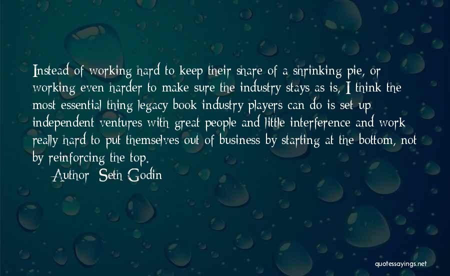 Having To Work Harder Than Others Quotes By Seth Godin