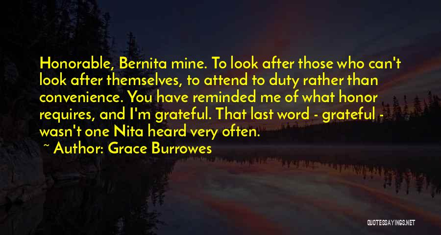 Having Word Of Honor Quotes By Grace Burrowes