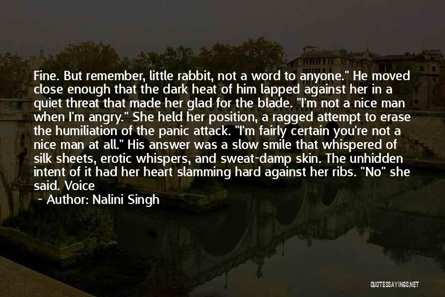 Having Word Of Honor Quotes By Nalini Singh