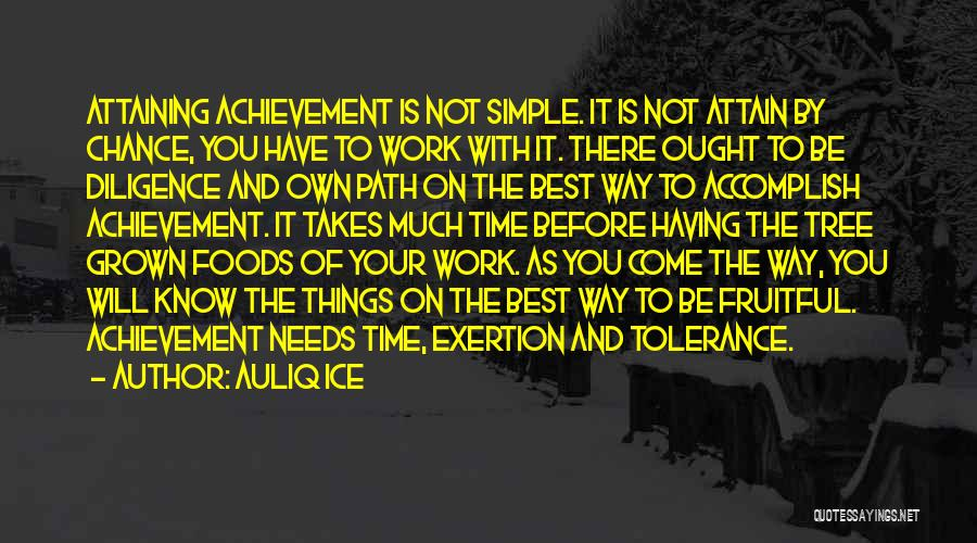 Having Your Time Quotes By Auliq Ice