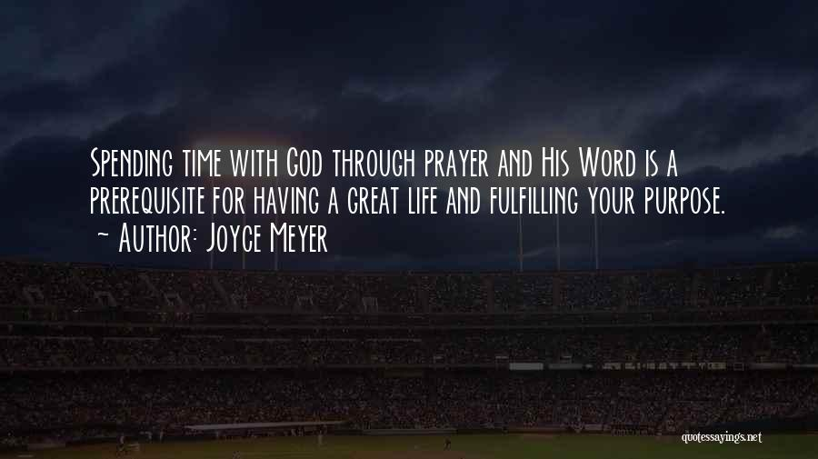 Having Your Time Quotes By Joyce Meyer