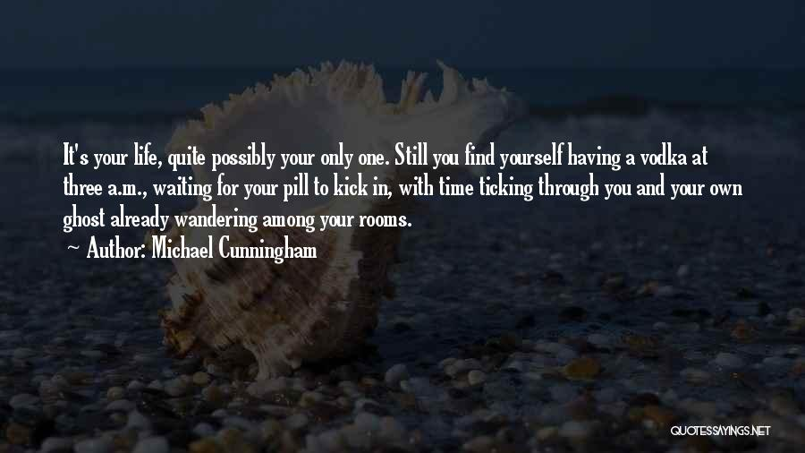 Having Your Time Quotes By Michael Cunningham