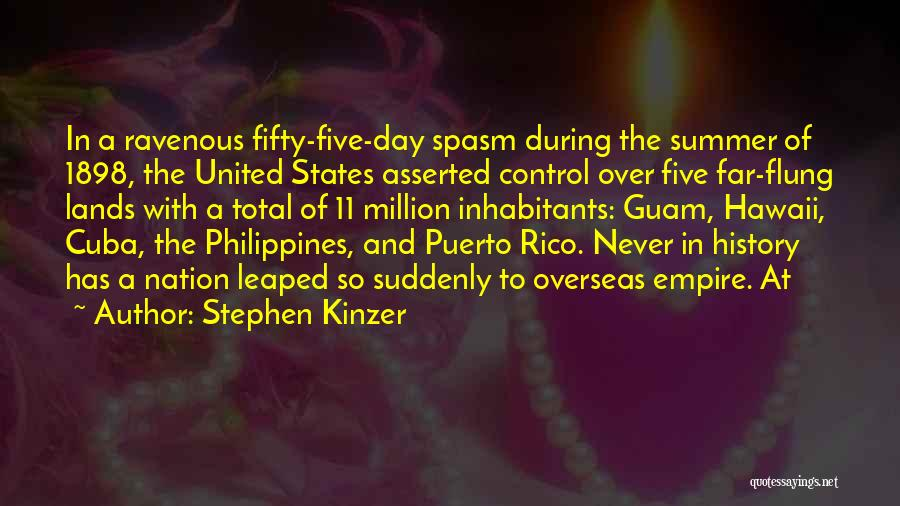 Hawaii Five O Quotes By Stephen Kinzer