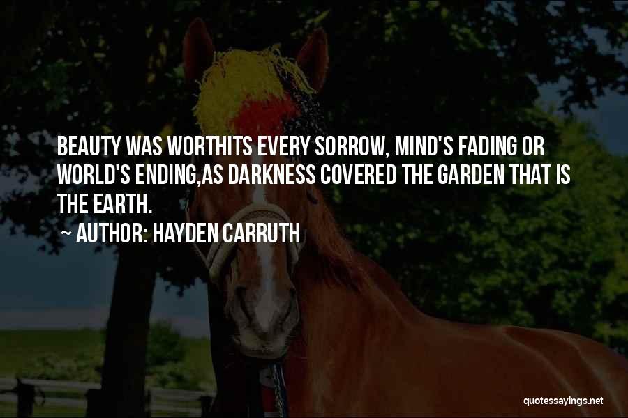 Hayden Carruth Quotes 140466