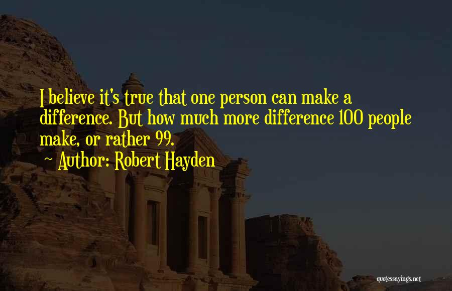 Hayden Quotes By Robert Hayden