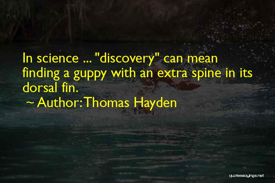 Hayden Quotes By Thomas Hayden