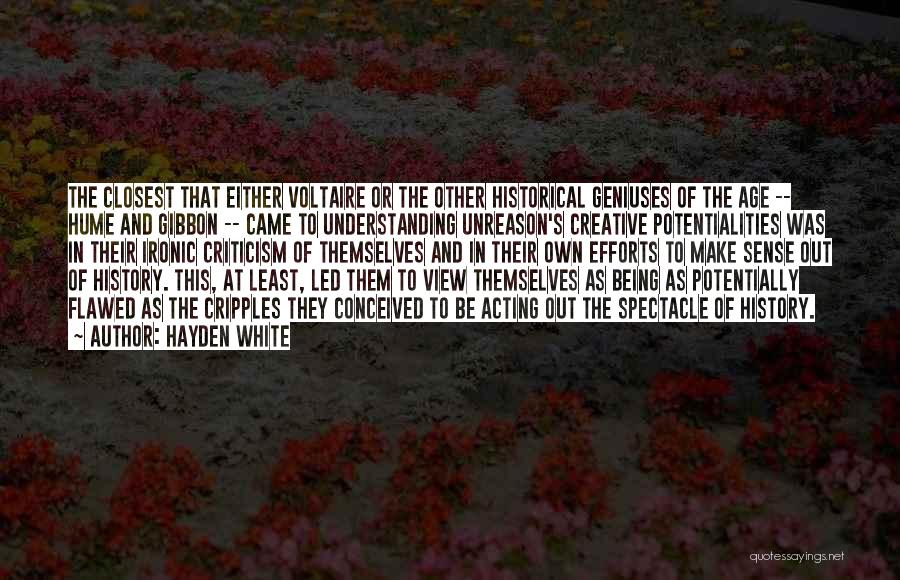 Hayden White Quotes 222940