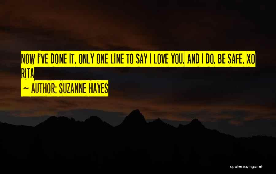 Hayes Quotes By Suzanne Hayes
