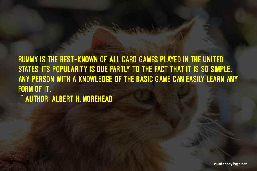 H'doubler Quotes By Albert H. Morehead