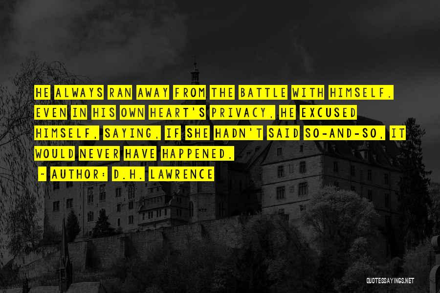 H'doubler Quotes By D.H. Lawrence