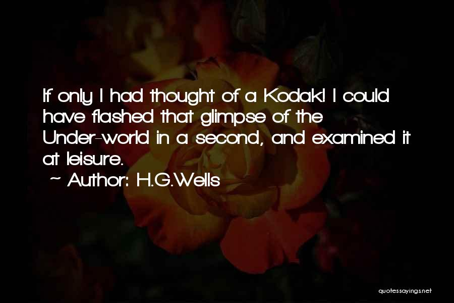 H'doubler Quotes By H.G.Wells
