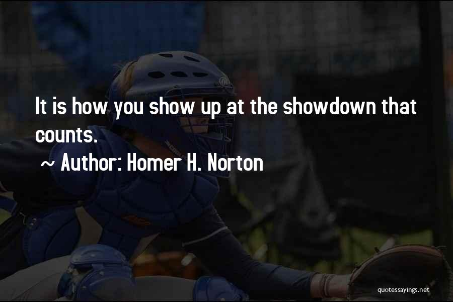 H'doubler Quotes By Homer H. Norton