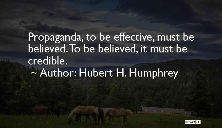 H'doubler Quotes By Hubert H. Humphrey