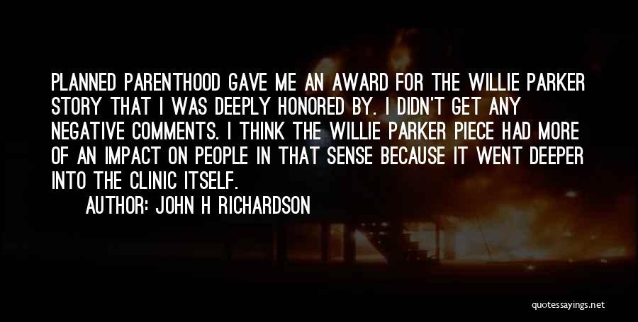 H'doubler Quotes By John H Richardson