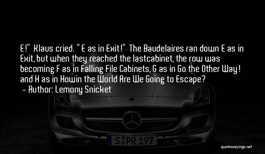 H'doubler Quotes By Lemony Snicket