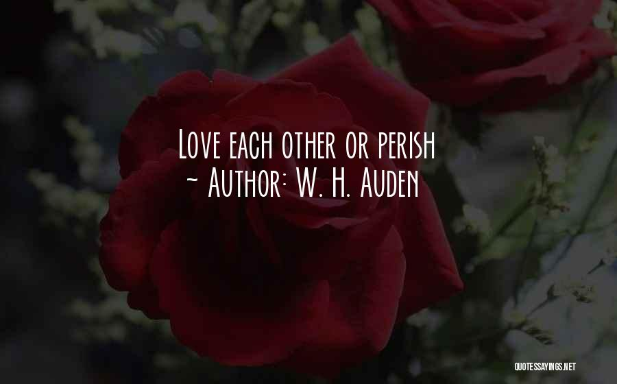 H'doubler Quotes By W. H. Auden